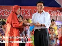 Jokowi-JK Menang, Bupati Kudus Musthofa Sujud Syukur