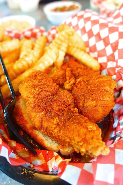 Hattie B's Hot Chicken - Nashville, TN - Hot Chicken is a must when you visit Nashville. Hattie B's is our favorite. Save room for the banana pudding!