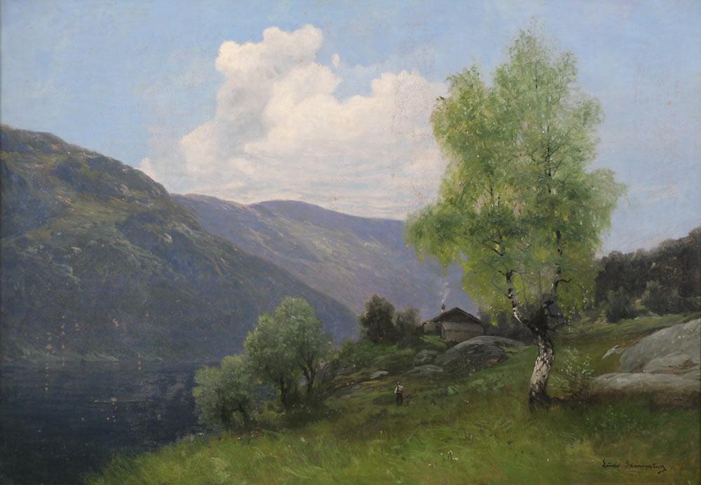 Maleri av Ludvig Skramstad
