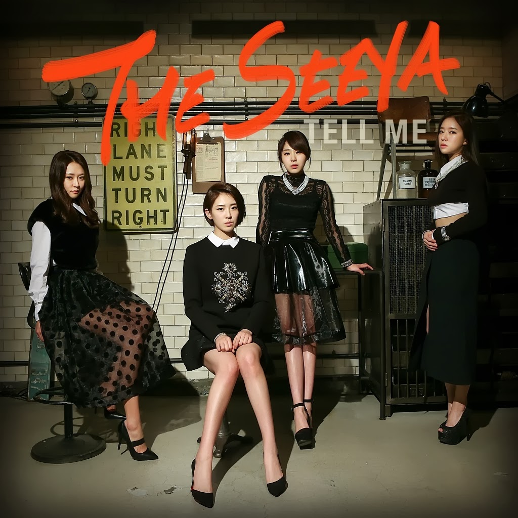 The Seeya Tell Me lyrics cover