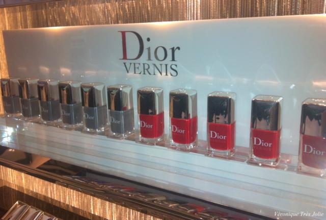christian dior make up corner la rinascente duomo milano nuovo skin care manicure bar a parfum collection privè