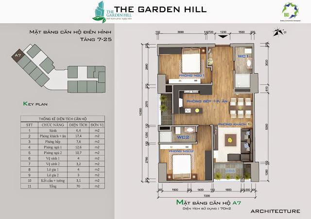 căn a7 chung cư the garden hill