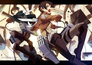Eren Jaeger Levi Attack on Titan Shingeki no Kyojin Anime HD Wallapper Desktop PC Background 1730