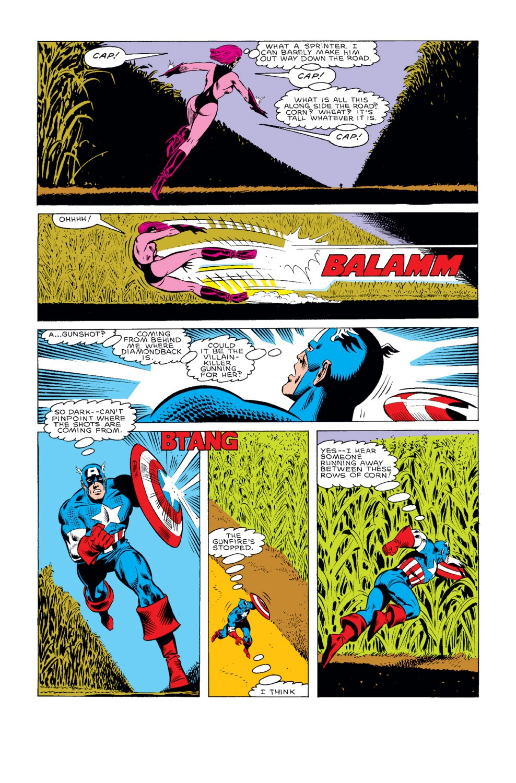 Captain America (1968) Issue #319 #247 - English 18