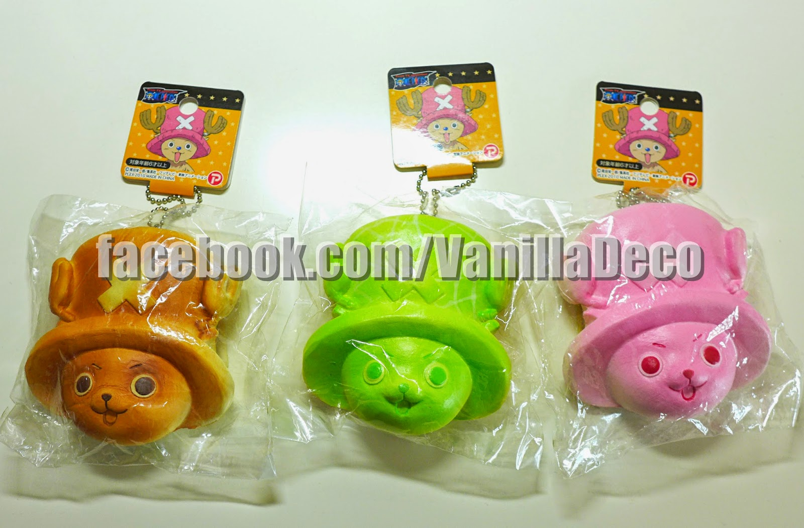 Sue s Cutie Closet : One Piece Chopper Head Bun Squishy Series