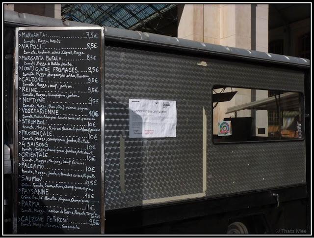 Camion à pizzas 104 Cent Quatre Paris 19ème