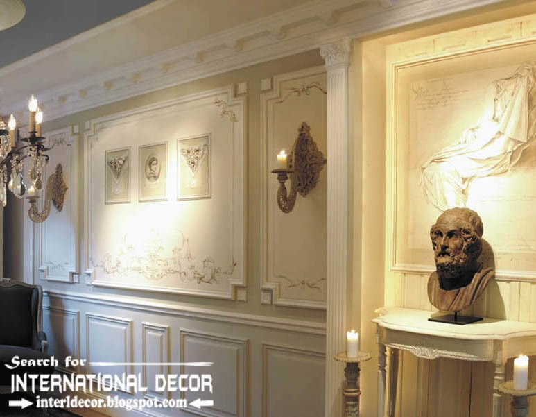 Decorative wall molding designs ideas and panels