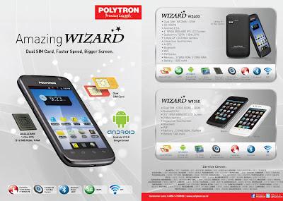 Spesifikasi, Harga Polytron Wizard W1350