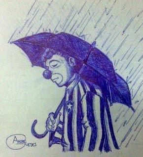 Triste, o Botafogo