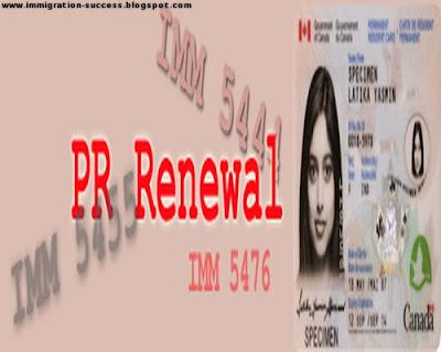 Canada PR Card Renewal