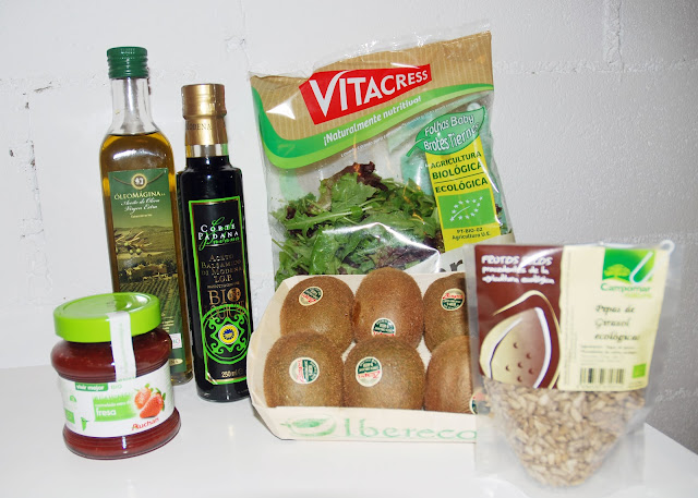 Ingredientes Ensalada Eco