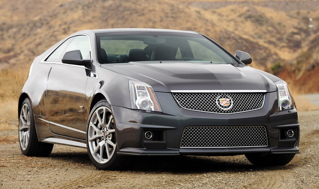 2012 Cadillac Cts V Coupe Luxury High Performance