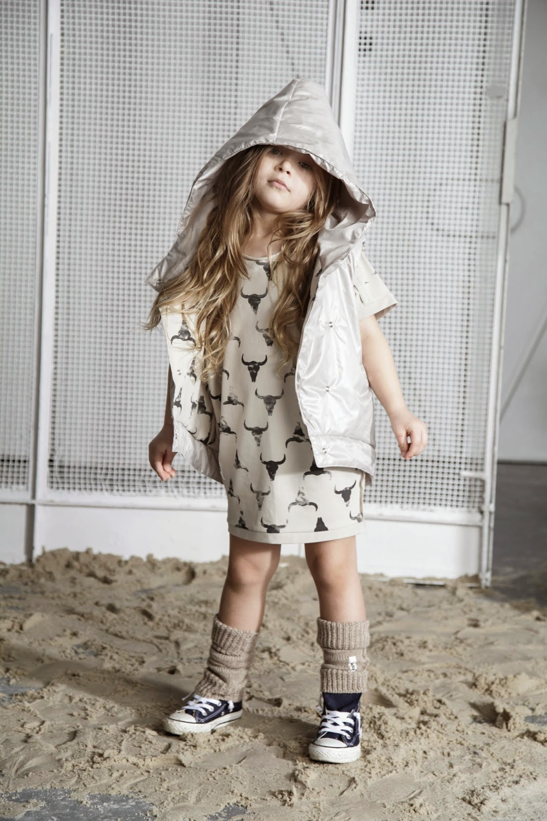 Kloo by Booso - Polish kids fashion spring-summer 2015 - bull's head dress