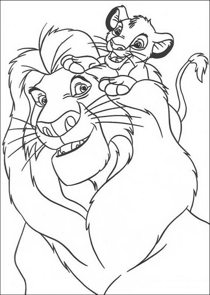 desenhos para colorir  desenhos colorir rei le u00e3o