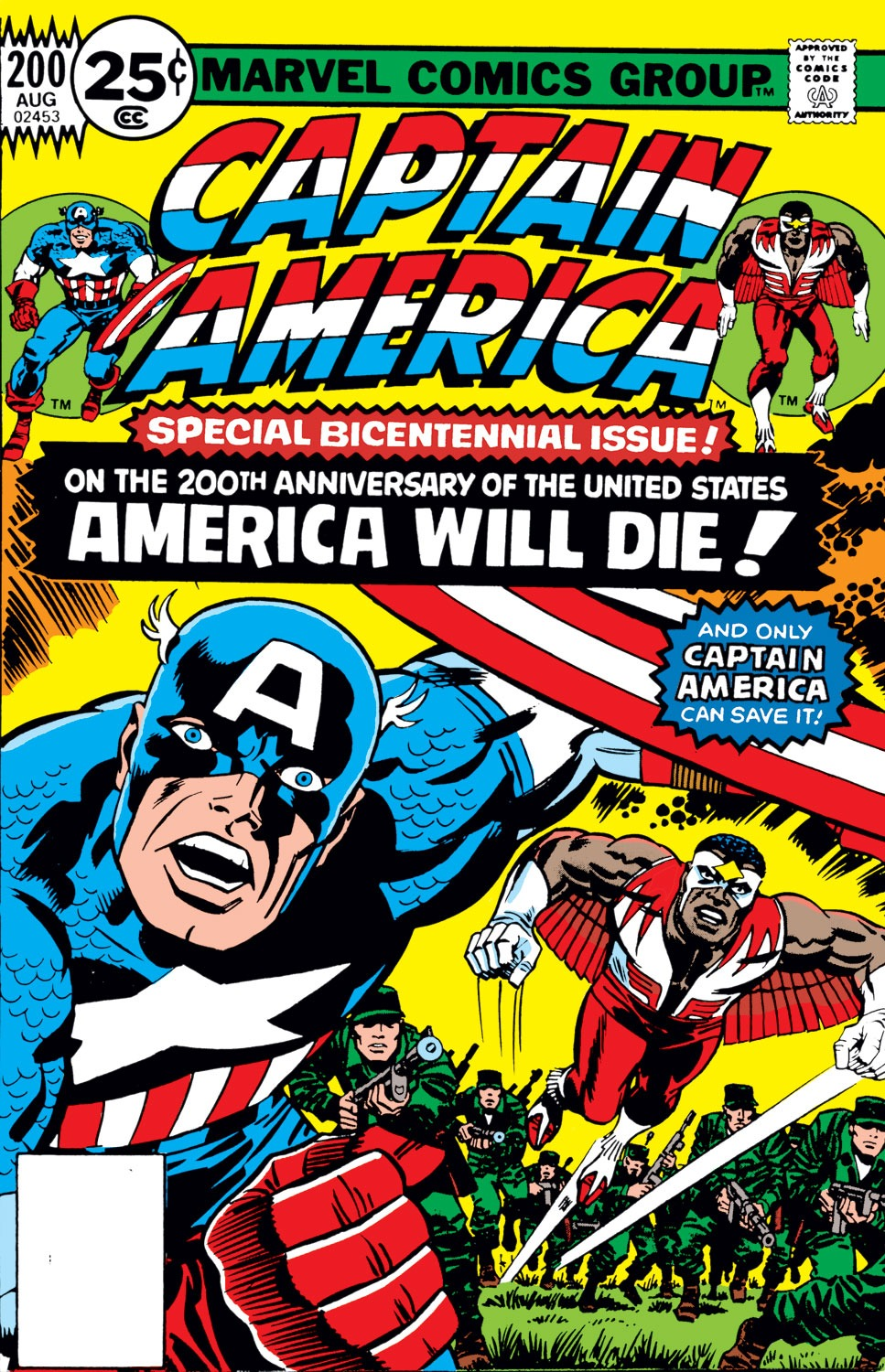Captain America (1968) Issue #200 #114 - English 1