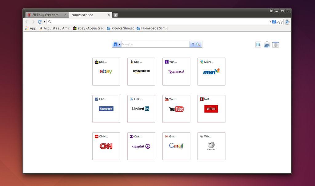 Slimjet in Ubuntu