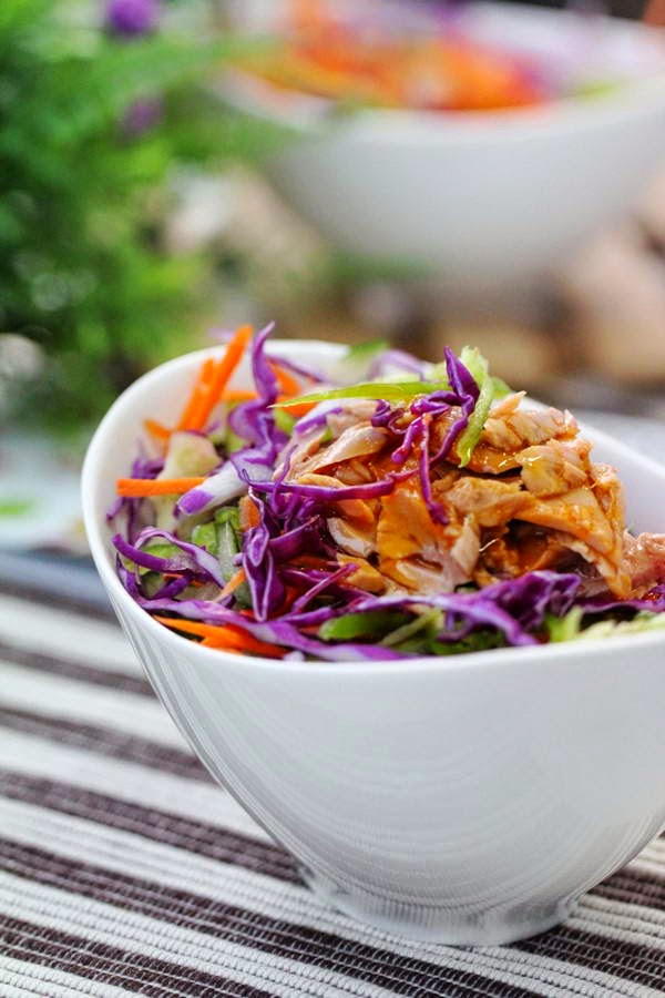Salad Salmon - Salad Cá Hồi