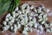 Wild Garlic and Ricotta Gnocchi