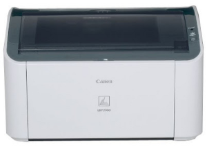 Canon Laser Shot LBP2900 Printer Driver Download