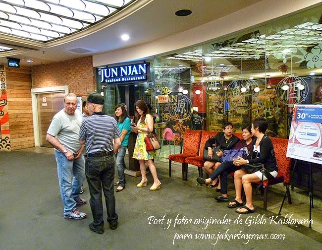 Restaurante Jun Njan en Yakarta