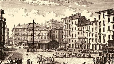 Campo de&#8217; Fiori, Rome