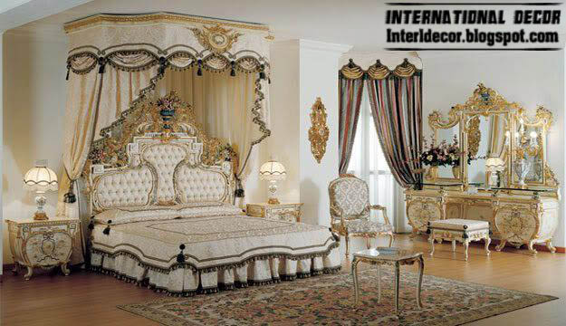 Nice Royal Bedrooms With Classic Canopy Beds 2015 Interior Design, Luxury Bedroom  Furniture 2015