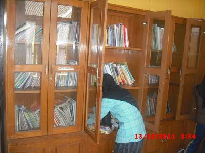 Ruangan Perpustakaan Anak Asuh