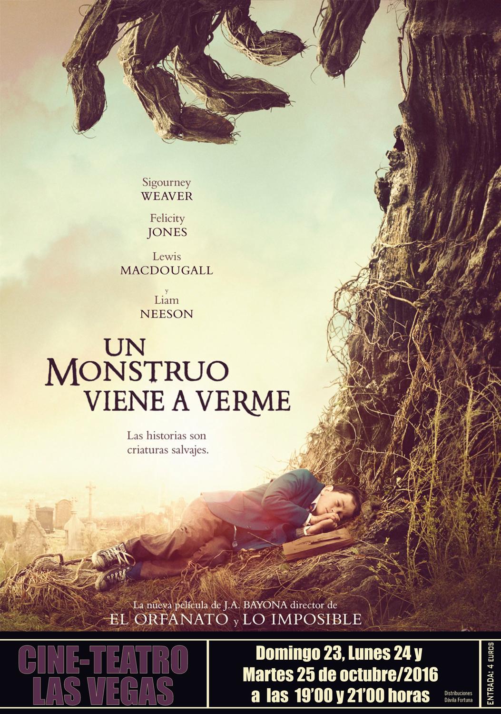 Película: Un monstruo viene a verme