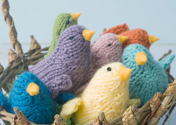 Parrot Knitting Pattern Free : Nestle And Soar -- Elegant Eco-Chic Fiber Art for your ...