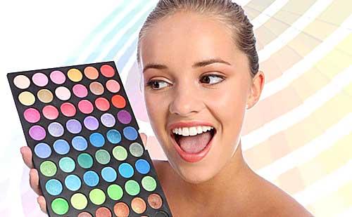 Colorimetria en maquillaje  Descubre los colores que más te favorecen