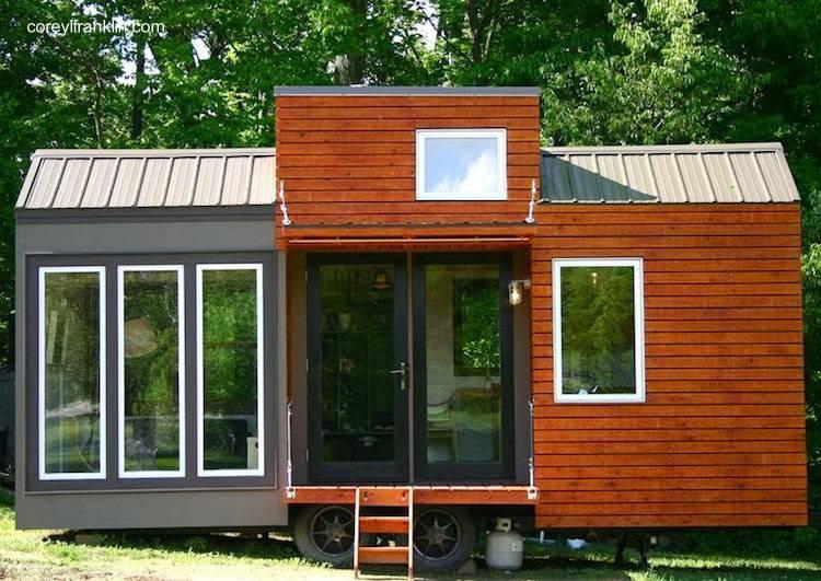 Arquitectura de casas 45 fachadas de casas peque as for Mini casas modernas