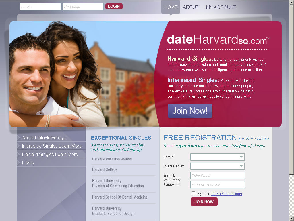 harvard online hookup & dating The askmen acquire team thoroughly to indulge in a mutually-beneficial hook-up zoosk has been one of the biggest names in online dating for.