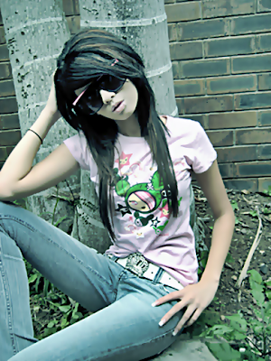popular hairstylers emo haircuts for girls