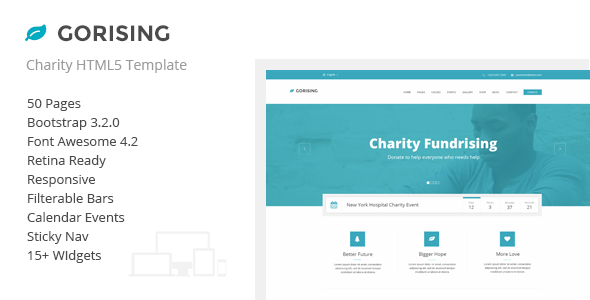 Free nonprofit template