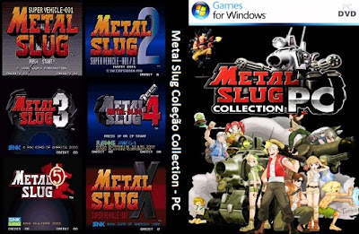 Metal Slug Collection PC DVD Capa