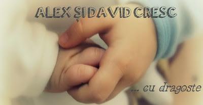 Alex și David cresc