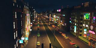 Cities Skyline After Night