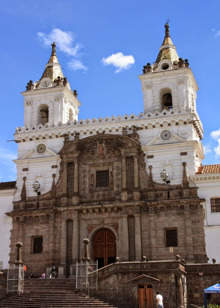 Church and Convent of St. Francis, Quito, Ecuador