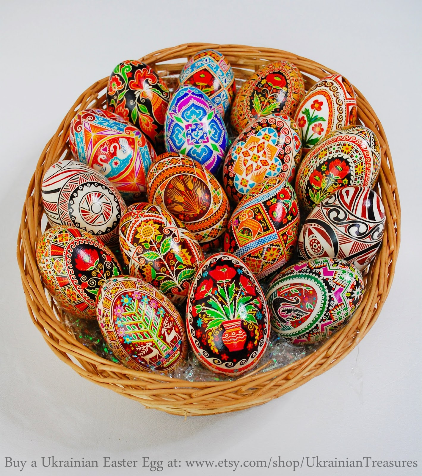 Ukrainian Easter Eggs Pysanky By Anna Perun