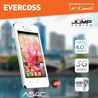 Harga dan Spek Evercoss A54C Terbaru 2015