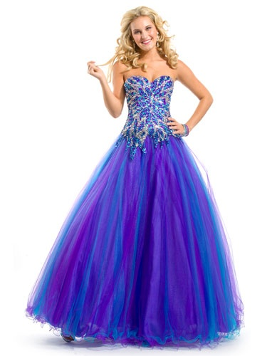 Different styles of blue formal dresses | Colorful Dresses Online