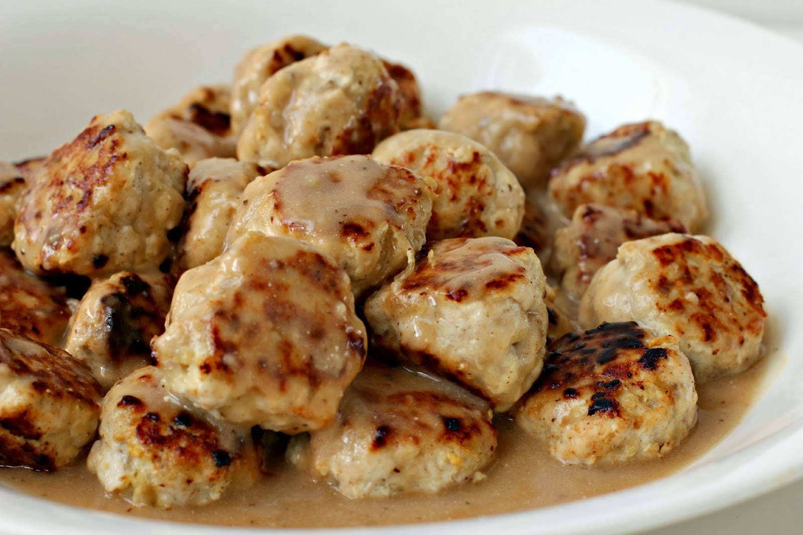 Milk and Honey: Skinnier Swedish Meatballs
