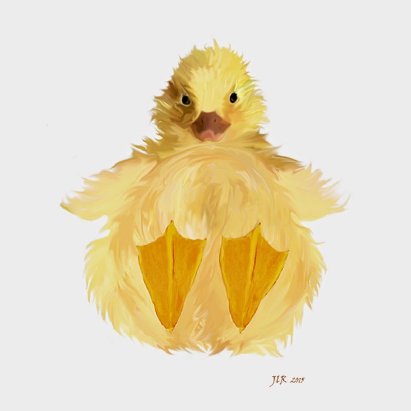 Fat duckling nursery art by Bamalam Art and Photography