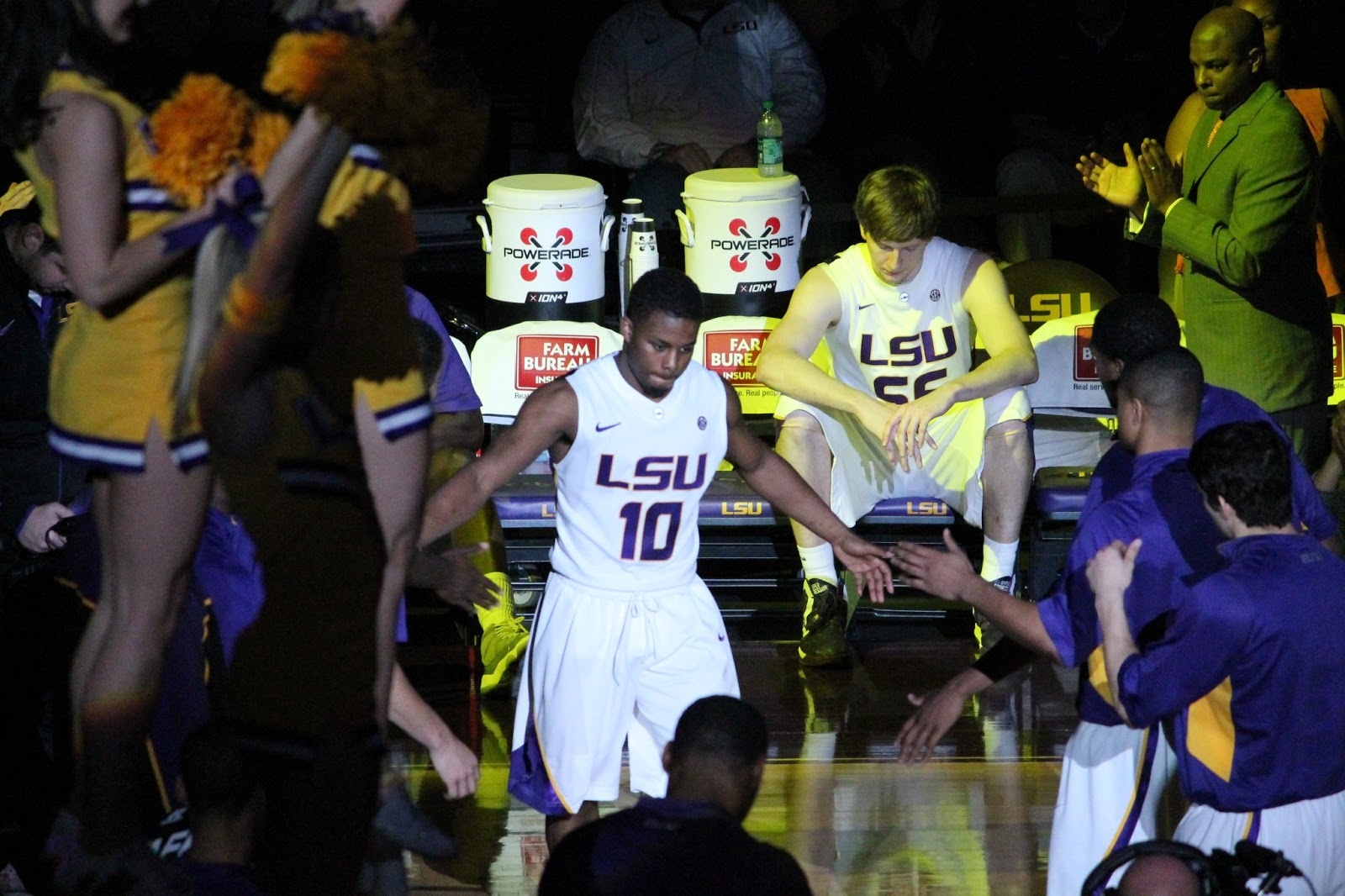 Andre Stringer is LSU's only 4th year player this season.