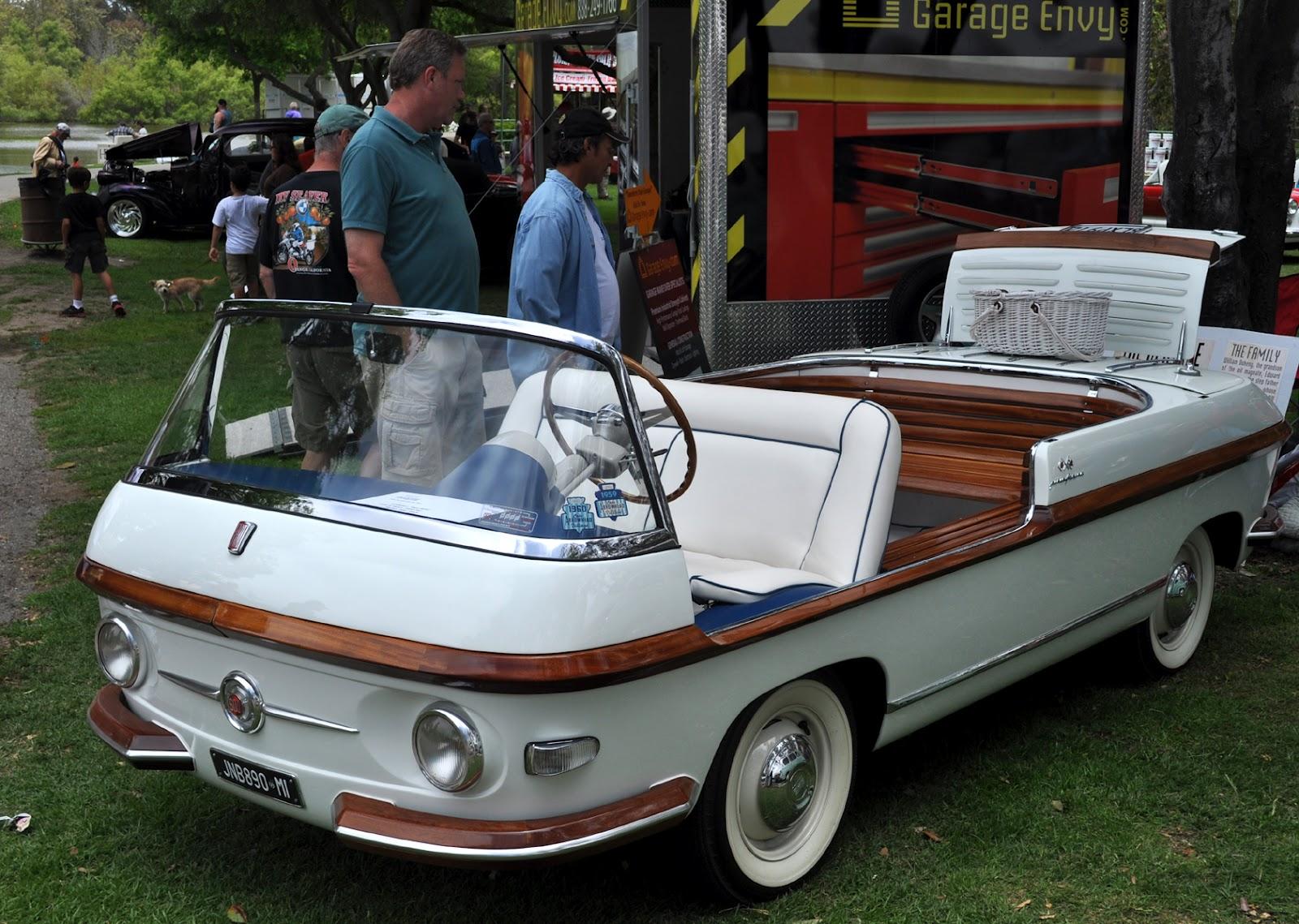 Just A Car Guy: 1957 Fiat Eden Rock (or Marina) built on a Multipla ...
