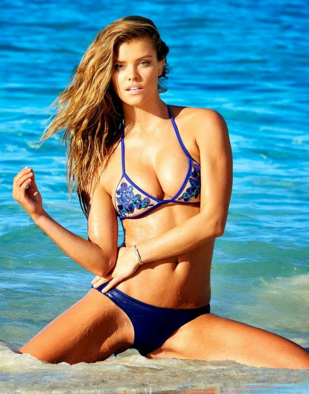 Nina Agdal Beach Bunny Hot Bikini HQ Photos