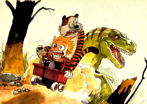 Calvin and Hobbes Cartoon Picture 3