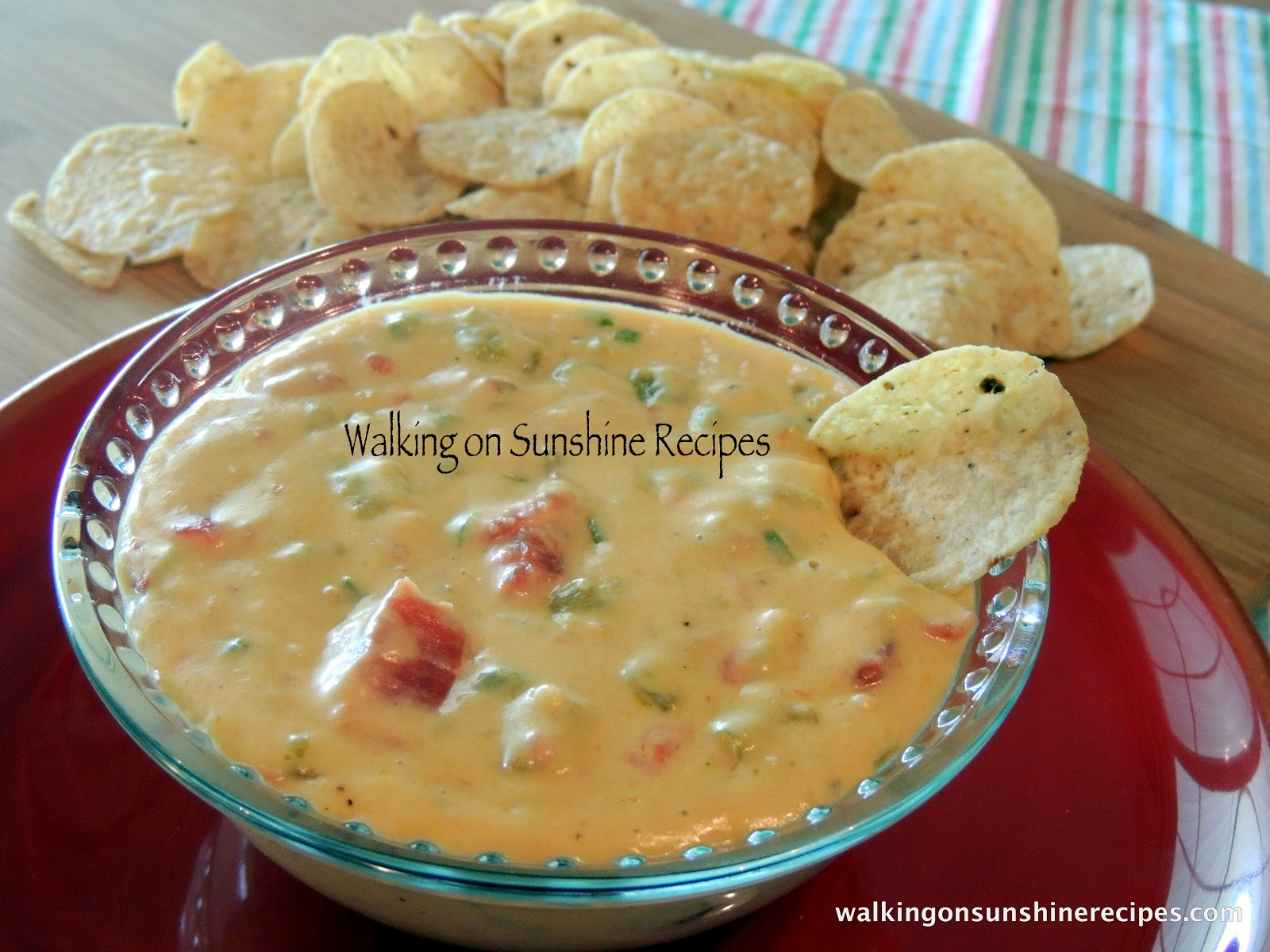 recipe for Homemade Queso Dip. Your family will love this dip recipe ...