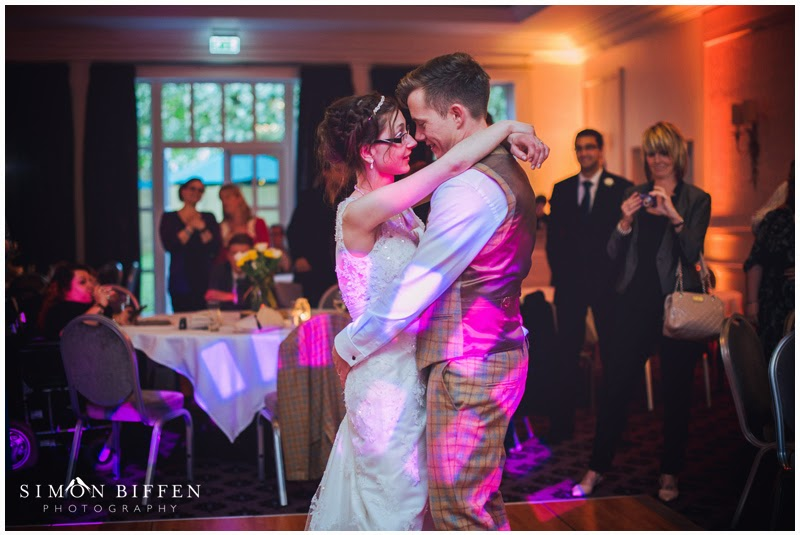 First dance Wedding photography at Bailbrook House Somerset