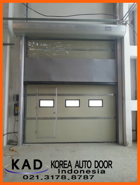 We installed High Speed Door and Overhead Door in Uzbekistan
